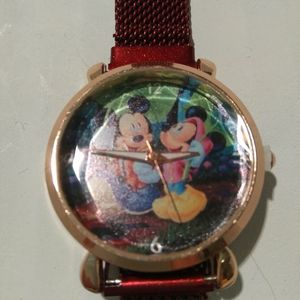 Mickey Minnie Mouse Watch